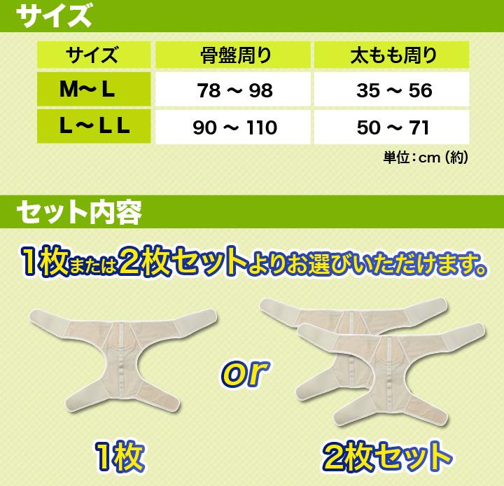 【サイズ】M〜Lサイズ、L〜LLサイズ【セット内容】1枚または2枚セットをお選びいただけます。