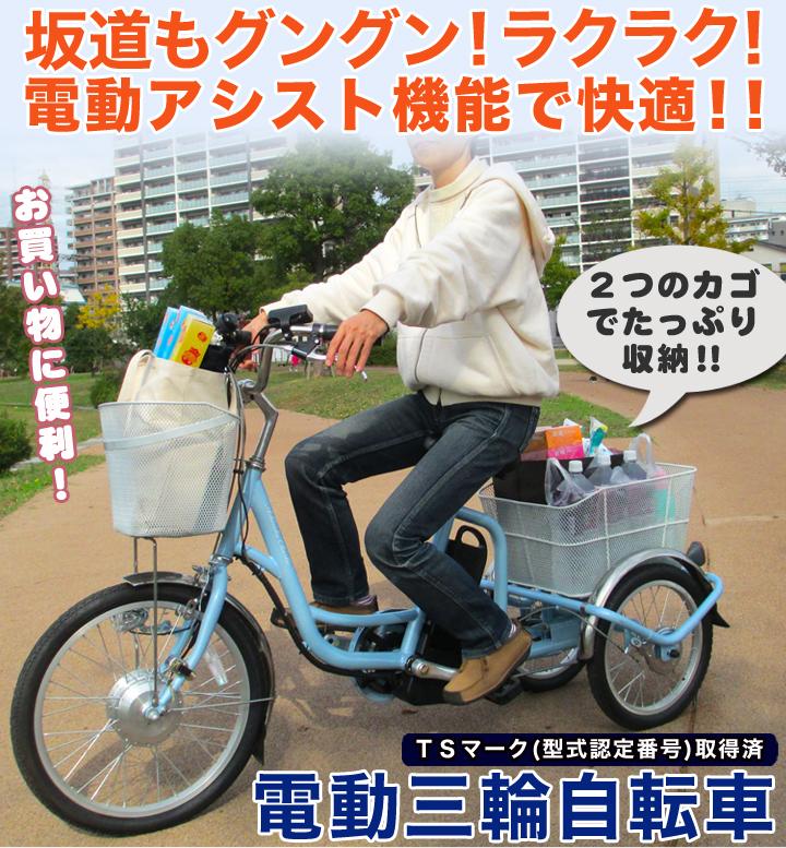 トップ_電動三輪自転車