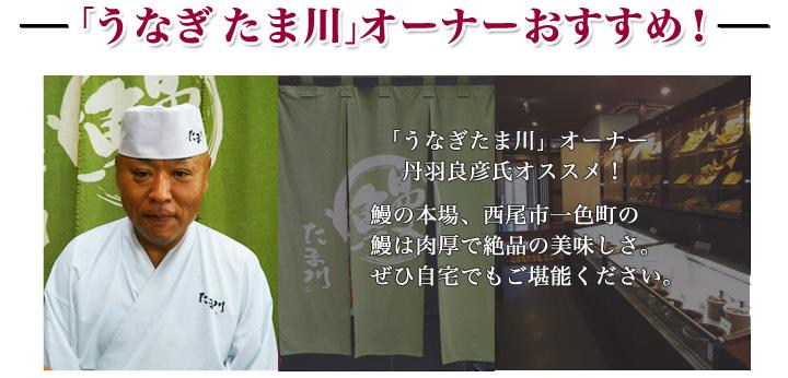 「うなぎ 玉川」オーナーおすすめ!