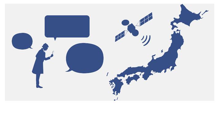 グロナス衛星対応で高速高感度で探知