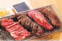 九重親方(元千代の富士)オススメ炭火焼肉店「亀山社中」の【焼肉4種盛り】