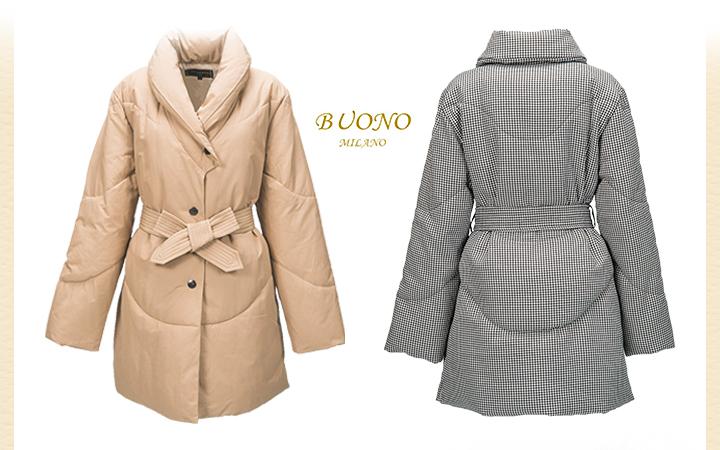 美しいシルエットを演出するヘチマ襟のデザインコート!
