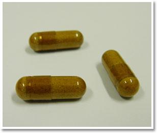 飲みやすいカプセルタイプ!1粒あたり320mgの低分子はちの子を配合