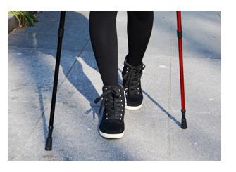 ただ歩くよりも運動効果大!
