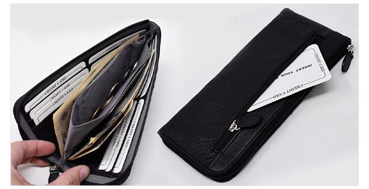 財布の表側は全てオーストリッチを使用!